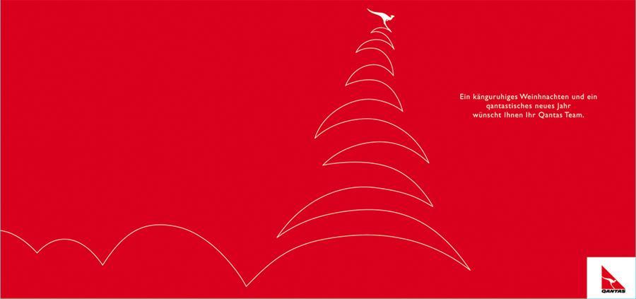 Qantas Christmas Card